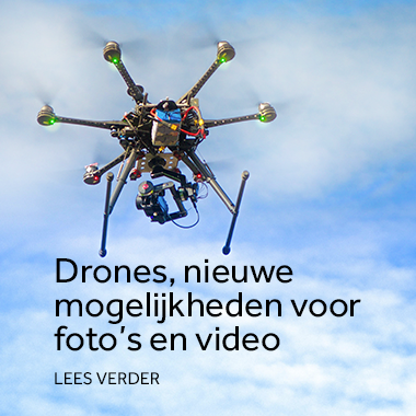 Drone, voor fotografie en video