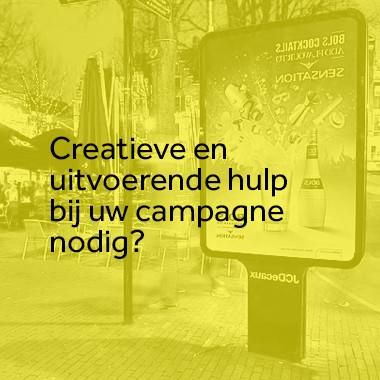 Creatieve back-up nodig?