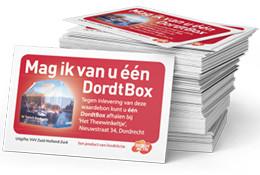 tickets VVV voor Dordtbox